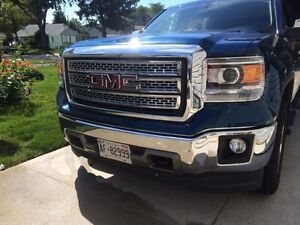 Chrome grill inserts 4pcs for a 2014-15 GMC