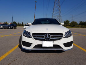 Lease Takeover in October,2017 Mercedes-Benz C-Class C 300 Sedan