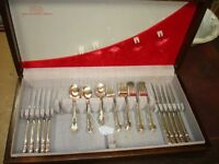 ROGERS BROTHERS SILVER PLATE CUTLERY, 48 PCS REFLECTIONS
