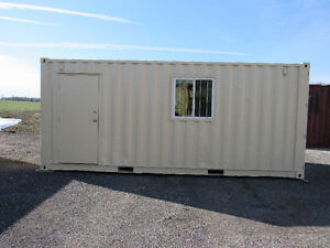 8'x20' MOBILE OFFICE TRAILER SHELL...WILL CUSTOMIZE