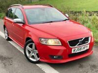 Volvo V50 2.0 Sport 2008 58 Plate - 1 FORMER OWNER / 2 KEYS / ALLOYS / AIR CON