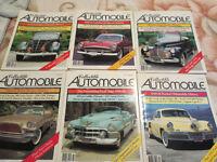 Collectible Automobile Magazines 1985