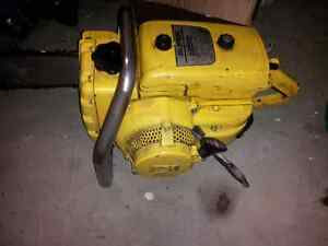 60's McCulloch chainsaw
