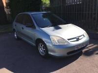 Honda Civic 1.4i petrol ideal for first car civic 5 doors 2001