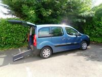 Peugeot Partner 1.6 16v 90 Tepee Urban WAV Wheelchair Accessible Vehicle