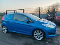 Ford Fiesta 1.6TDCI 94PS Sport VAN WOW JUST 27,000 MILES NO VAT HUGE SPEC SUPERB