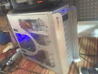 Gaming pc I7 - water cooled