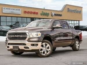 2019 Ram 1500 Big Horn  - Remote Start - Uconnect - $307.75 B/W