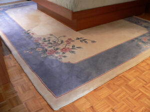 "Ornamental Area Carpet (approx. size: L138""xW102"")"