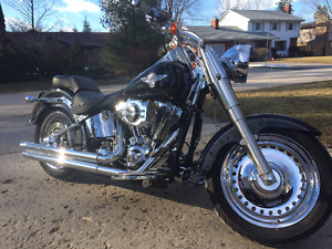 Harley Davidson Fully Modified Chrome Fatboy low KMs