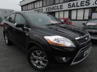 2010 Ford Kuga 2.0TDCi Zetec - Black - Platinum Warranty / MOT!