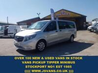 2016 16 MERCEDES-BENZ VITO 2.1 114 BLUETEC TOURER SELECT 136 BHP LEATHER 1 OWNER