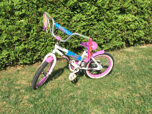Vélo (14po) pour fille / bicycle (14in) for girl