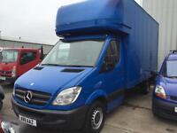 Mercedes-Benz Sprinter Luton 2.1TD 313CDI LWB blue 2011