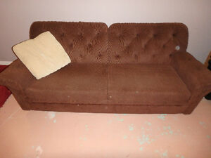 Quality Build 7' Sofa Bed from Sears - Queen
