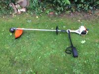 Stihl FS 55 Straight Shaft Strimmer 2 Stroke Petrol Garden Lawn Grass Cutting