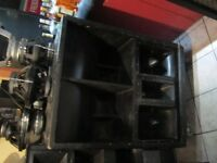 4x turbosound tms3 kit complet