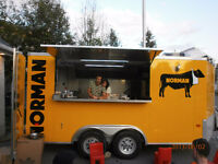 CUISINE MOBILE FOOD TRUCK ROULOTTE 14'