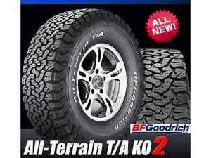 BFG. KO2 A/T NEW TRUCK TIRES.....CASH QUOTES AVAILABLE