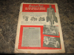 Vintage Snap On Tools Catalogs