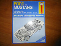 1964-1973 Ford Mustang V8 Mach 1 GT Shelby Boss Service Manual