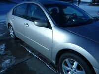 2005 Nissan Maxima Sedan 3,5, SL, carfax & inspection report