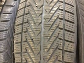 4 x Winter Tyres. 255/50 R 19 107V GIUGIARO Design VRDESTEIN Wintrac 4 Extreme