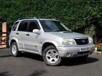 2004 Suzuki Grand Vitara 2.0TD, DIESEL, SILVER, 5 DOOR, MANUAL, TOW BAR