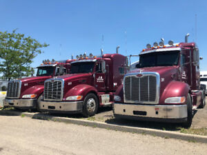 (3) 2013 Peterbilt 386 Selling AS-IS
