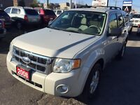 2008 Ford Escape XLT *NO ACCIDENT **2 YEARS WARRANTY