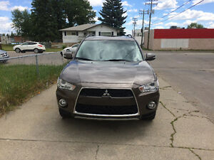 2012 Mitsubishi Outlander GT SUV, Crossover fully loaded leather