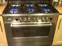 Delonghi professional range cooker DFS 901SS