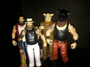 WWE Mattel Wyatt Family. Braun not available in Canada.