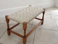 Weaved stool