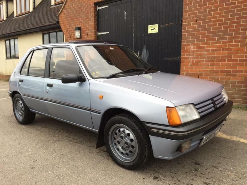 peugeot 205 gt immaculate condition low miles in rayleigh essex gumtree. Black Bedroom Furniture Sets. Home Design Ideas
