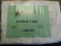 10 Pound Bags of Cotton Rags