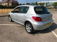 Peugeot 307 1.6 HDi 2004 SE + 12 months test + Diesel + cheap tax