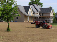 Full Service Lawn Seeding for New Developments/Homes