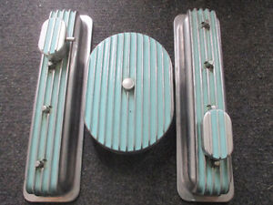 chevrolet small block  valve covers air cleaner