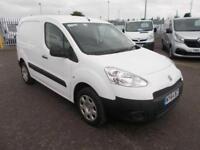 Peugeot Partner 850 S 1.6 Hdi 92 Van DIESEL MANUAL WHITE (2015)