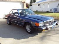 Hard Top/Soft Top 1982 Mercedes Benz Convertible