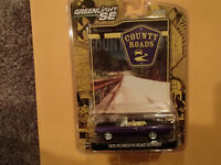 Greenlight Collectib - COUNTY ROADS - 1970 PLYMOUTH ROAD RUNNER