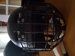 Hockey helmets with face guard