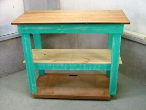Painted Solid Wood Benches & Cabinets ! $75.00 & Up