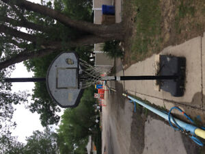 Basketball hoop SOLD
