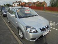 KIA RIO 2 1.4 5DR...HATCHBACK, 2010 (10 REG)...ONLY DONE 17000 WITH SERVICES
