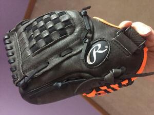 Youth baseball glove (left handed)