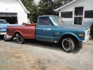 1972 CHEVY C-10 PROJECT TRUCK