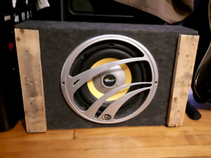 10 inch Subwoofer with Amp