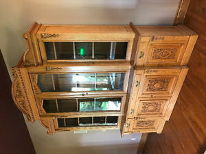 Turn of the Century English Hutch